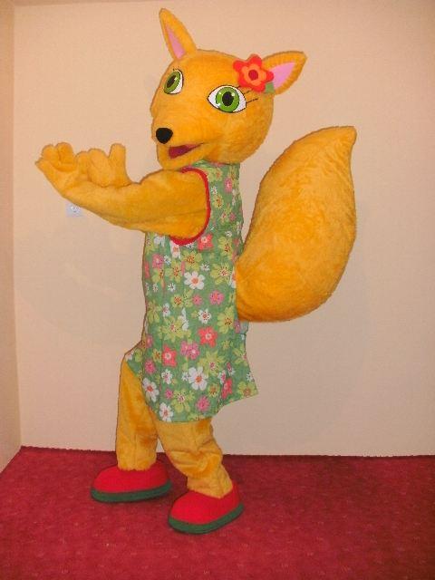 maskota zlata lisica