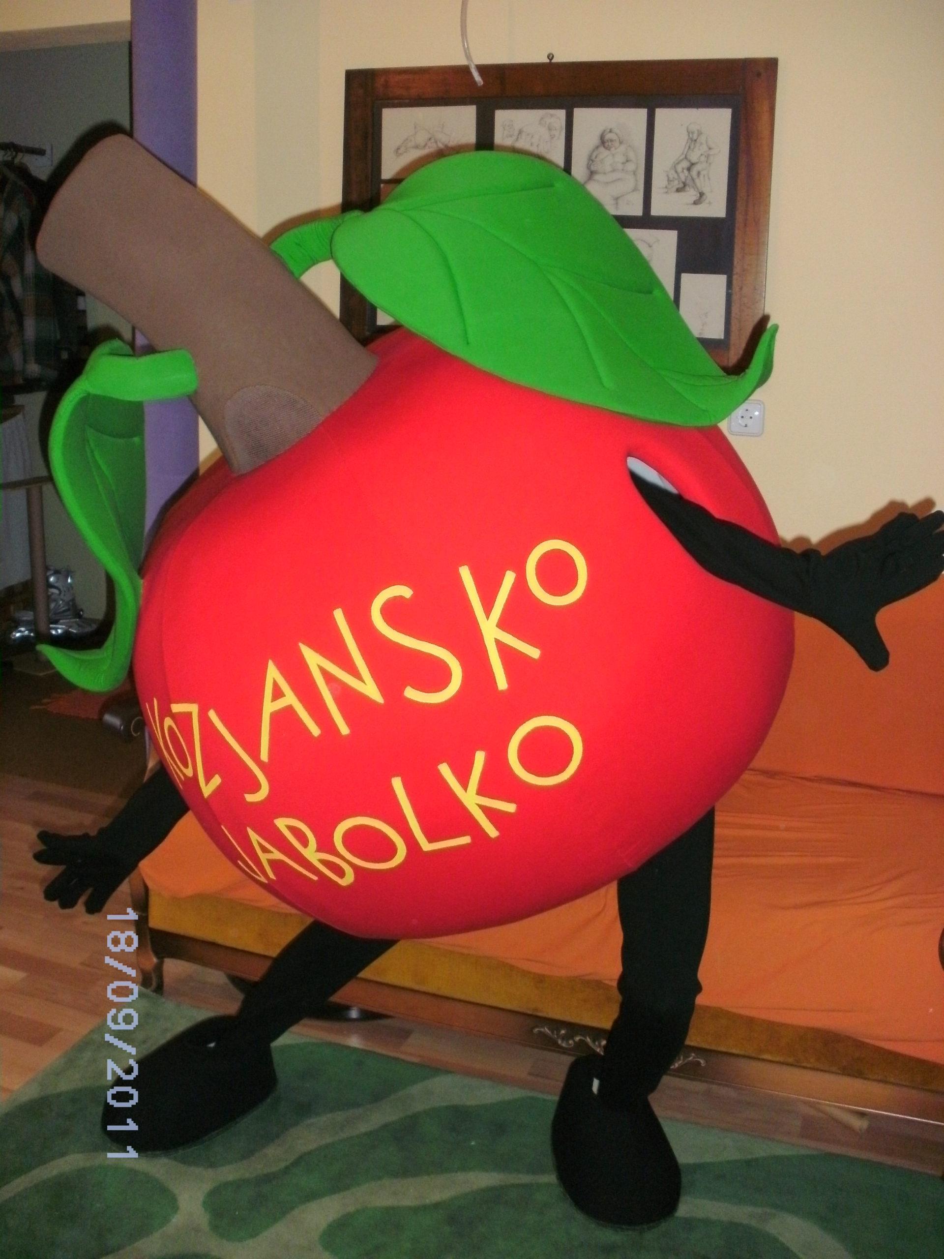 maskota kozjansko jabolko