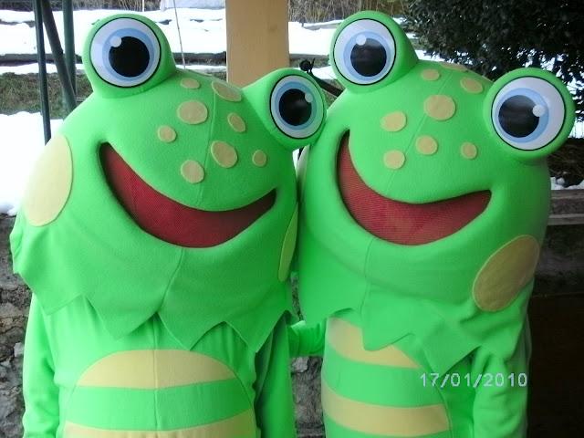 maskota žaba
